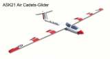 ASK-21 Glider Cadets 2.6M