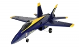 F18 Jet Blue Angel 656mm ARF 64mm EDF