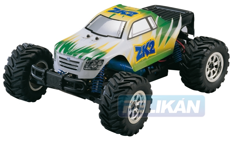 ZK2 EP Monster Truck 1:18 elektro RTR set (G/W)