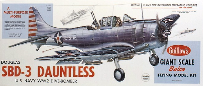 SBD-3 Dauntless (1003) 794mm