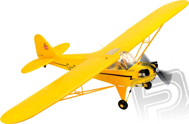 PIPER J3 KIT 1400mm EPP samotný model bez elektroniky