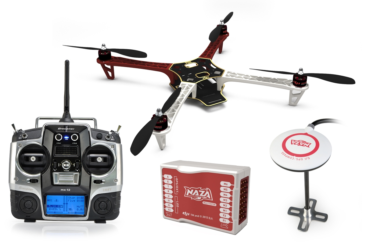DJI - F450 Limited Edition Combo s GPS
