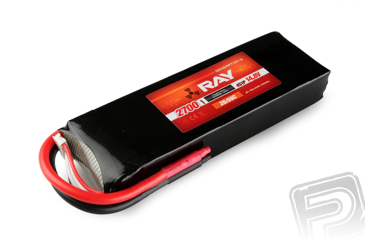 G3 RAY Li-Pol 2700mAh/14,8 26/50C Air pack