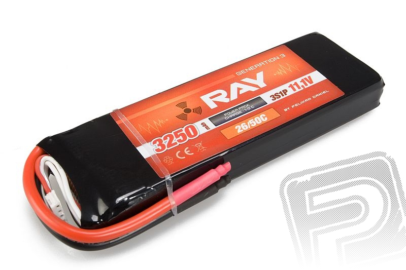 G3 RAY Li-Pol 3250mAh/11,1 26/50C Air pack