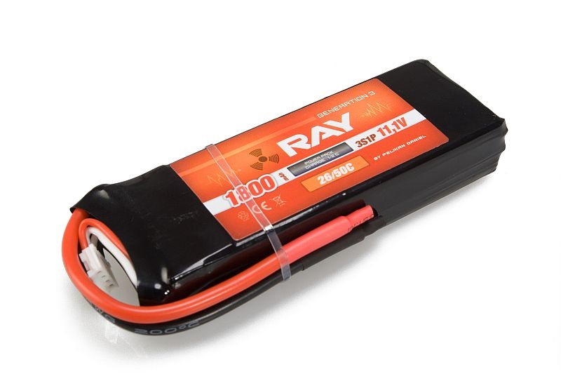 G3 RAY Li-Pol 1800mAh/11,1 26/50C Air pack