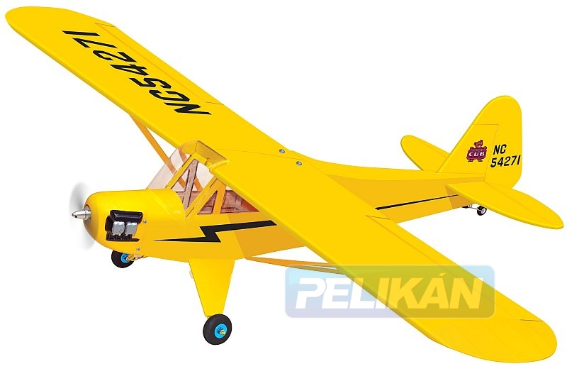 Piper Cub EP 1520mm rozp. PH070