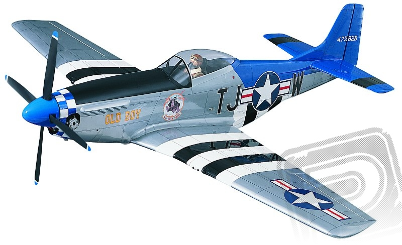 P-51D Mustang Giant kit 2140mm