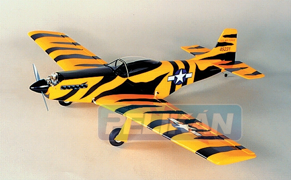 SIG P-51 Mustang 1067mm stavebnice