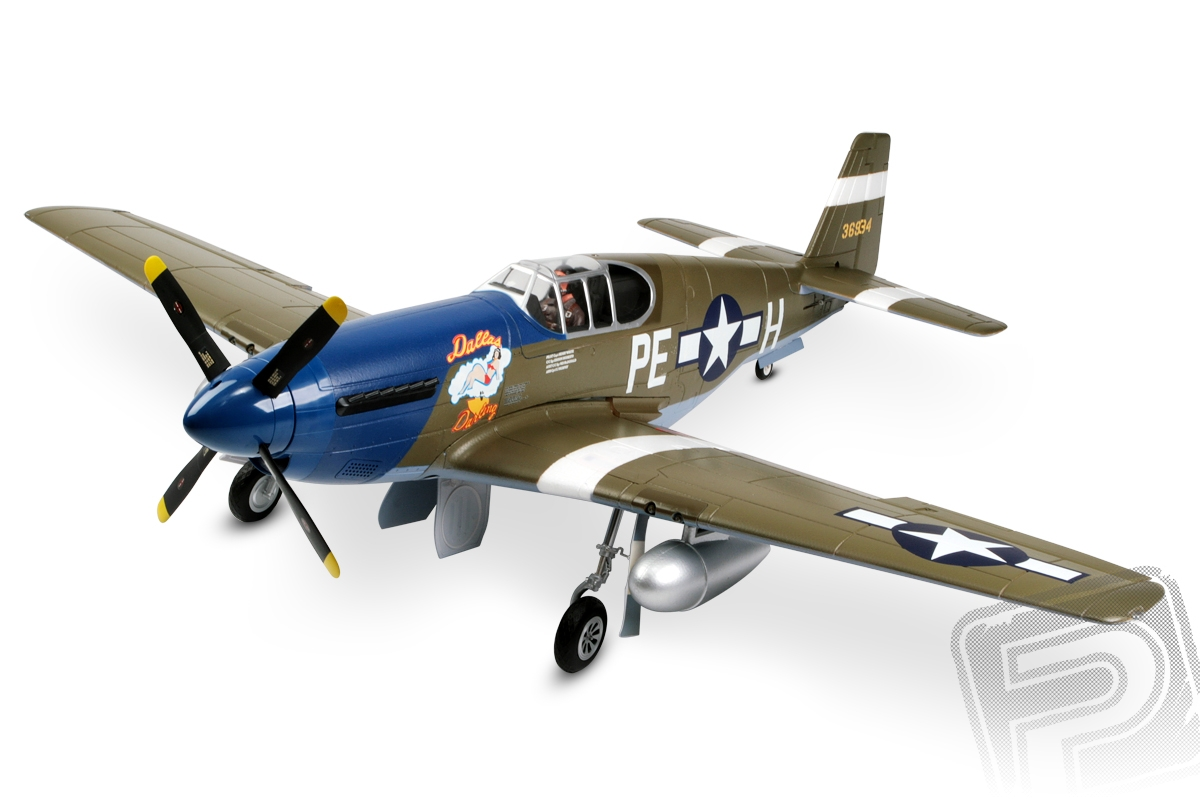 P-51-B Mustang Dallas Darling ARF