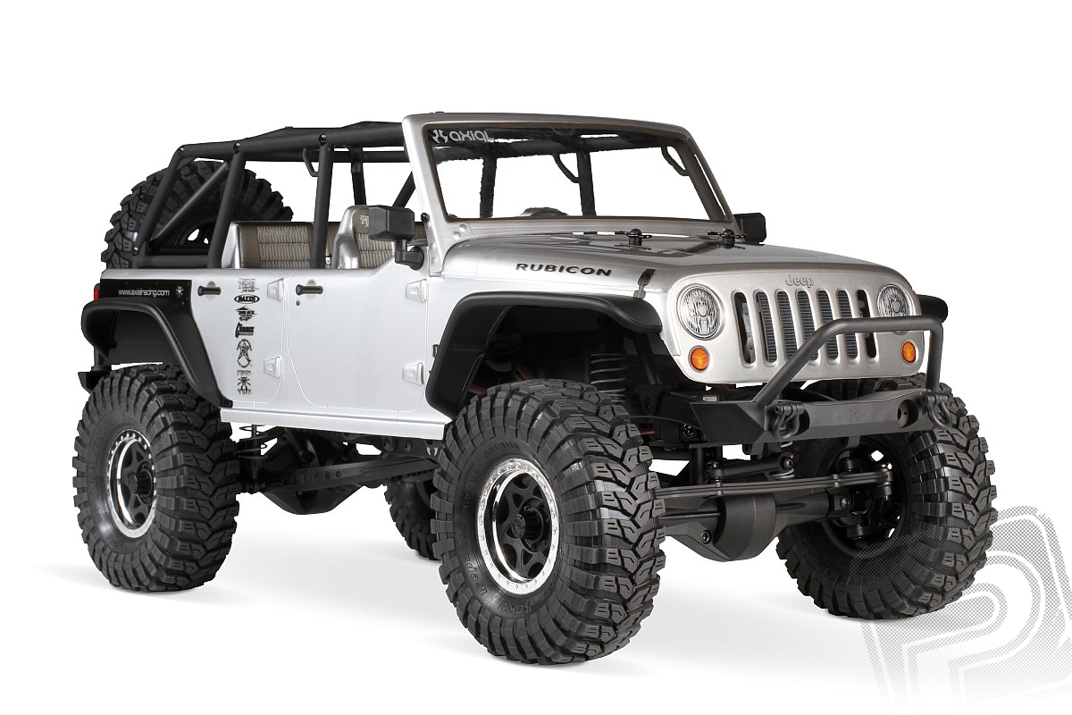 Axial SCX10 Jeep Wrangler Unlimited Rubicon 4WD - 1/10 elektro,
