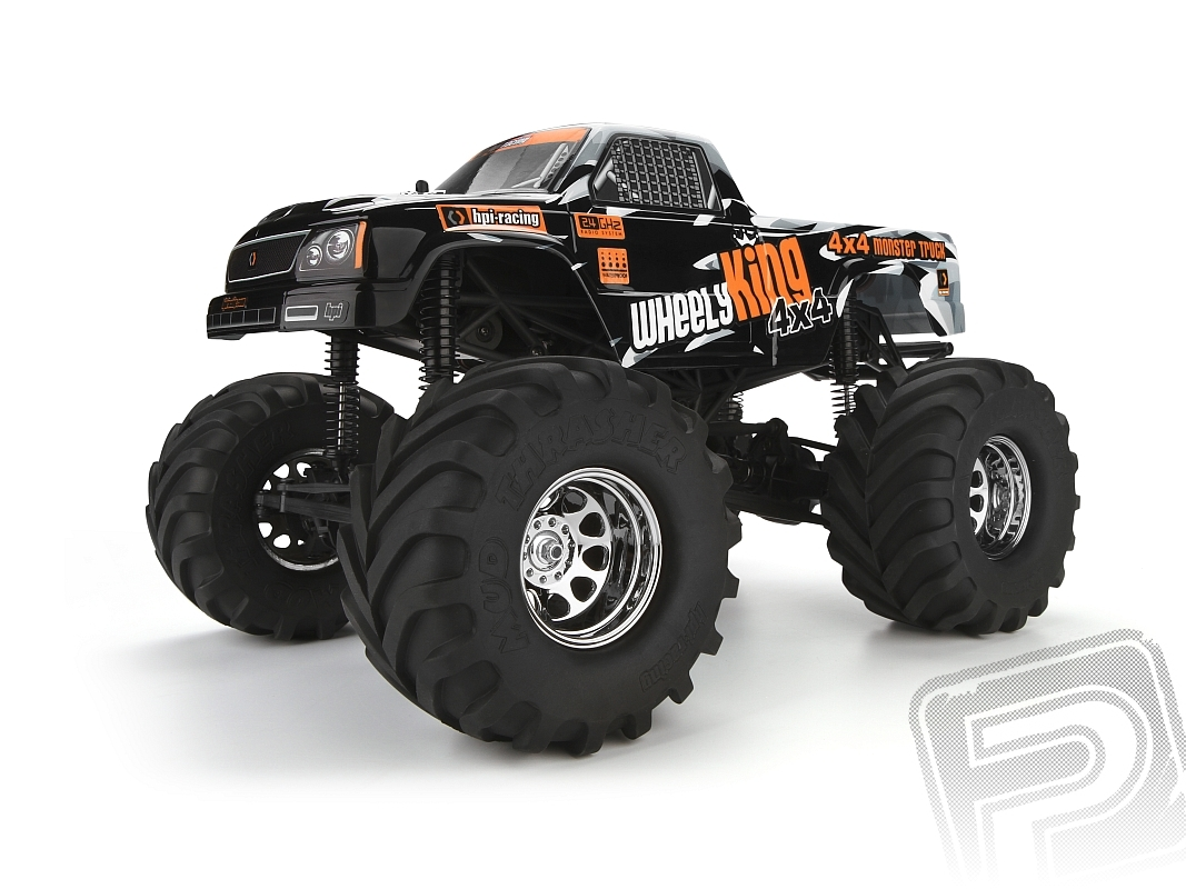 Wheely King 1/12 Monster Truck RTR s 2,4GHz soupravou         Kód HPI10