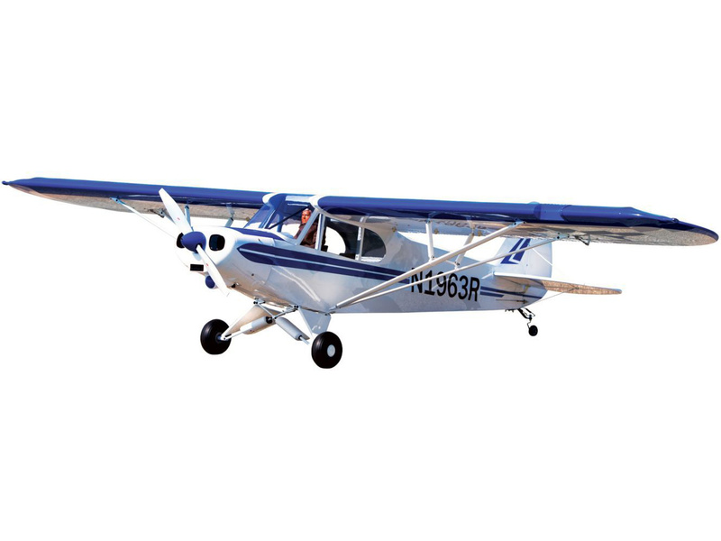 Piper PA-18 Super Cub 1:4 Plug & Play