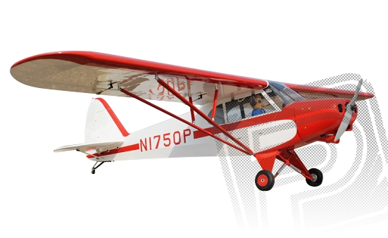 PA-18 Super Cub 2730mm 1:4 ARF