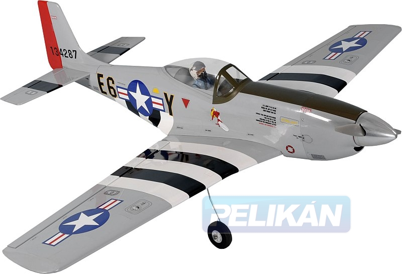 P-51 Mustang EP 1370mm rozp. PH069