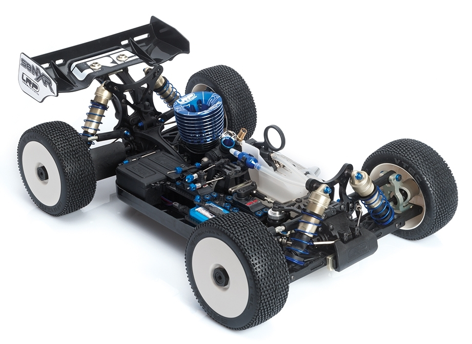 LRP S8 NXR - 1/8 Nitro Competition Buggy stavebnice