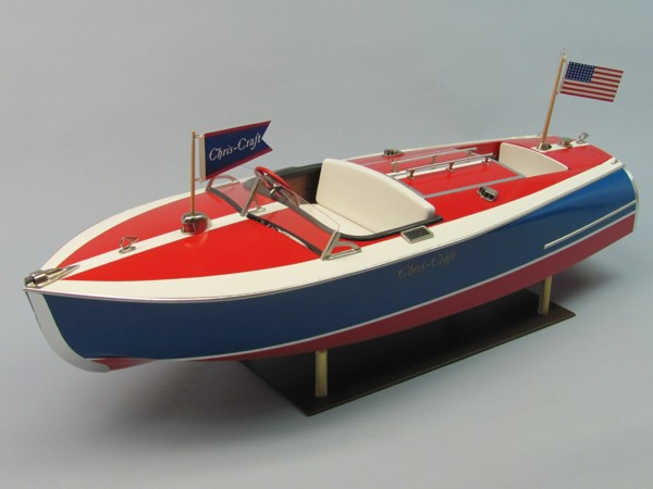 1938 CHRIS-CRAFT 16' PAINTED RACER, KIT #1263 [1263
