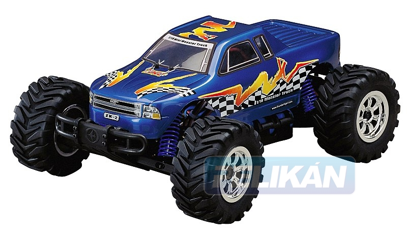 ZK2 EP Monster Truck 1:18 elektro RTR set (L)
