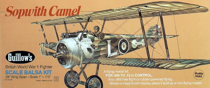 Sopwith Camel (801) 711mm