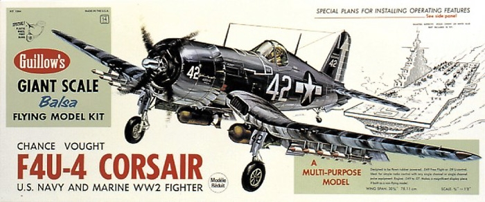 F4U-4 Corsair (1004) 781mm