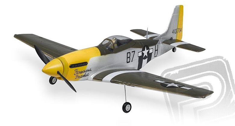 P-51 Mustang (Baby WB) 2,4GHz M1 zelený